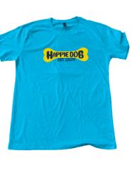 blue shirt yellow bone no bg
