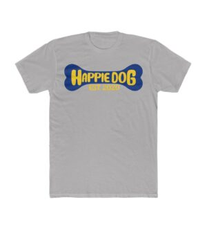 Original Happie Dog Blue Bone Tee