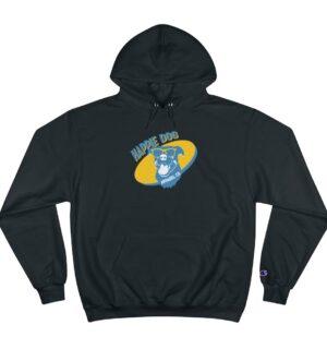 Happie Dog Premium Unisex Champion Hooded Sweatshirt
