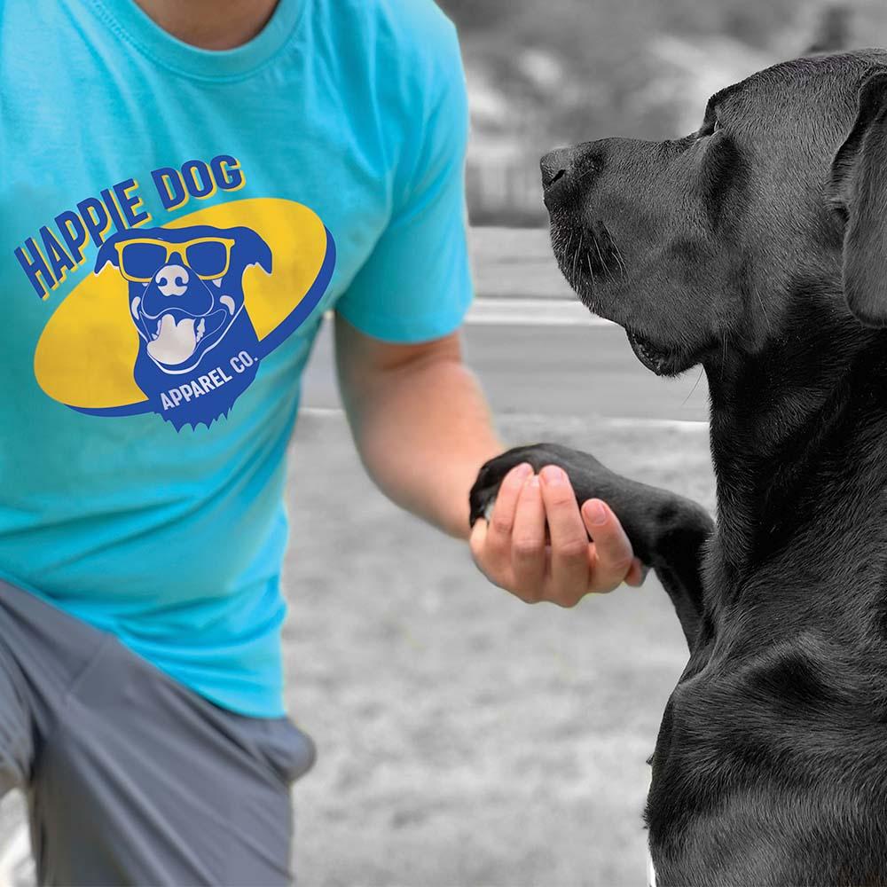 happie dog t-shirts