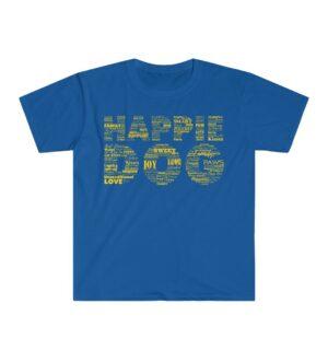 Happie Dog Descriptive Blue Tee